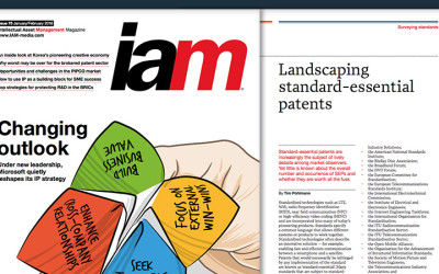 IAM magazine publishes study on Standard Essential Patents
