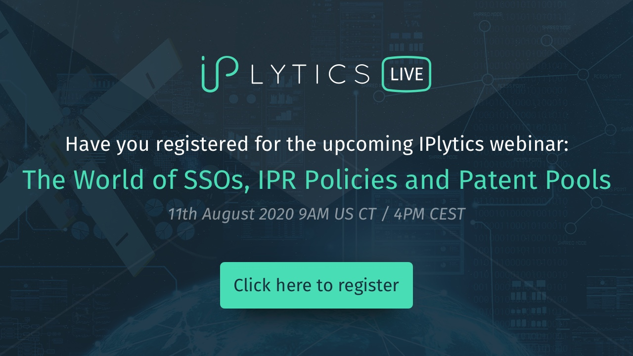 The World of SSOs, IPR Policies and Patent Pools