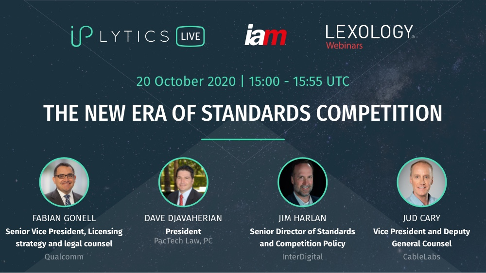Video Recording and Presentation Slides from Webinar: The New Era of Standards Competition
