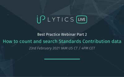 Webinar Slides and Recording – How to use Standards Contribution data to understand SEP portfolios
