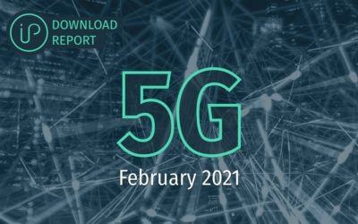 Who is leading the 5G patent race?